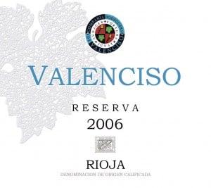 Valenciso Reserva Rioja 2006