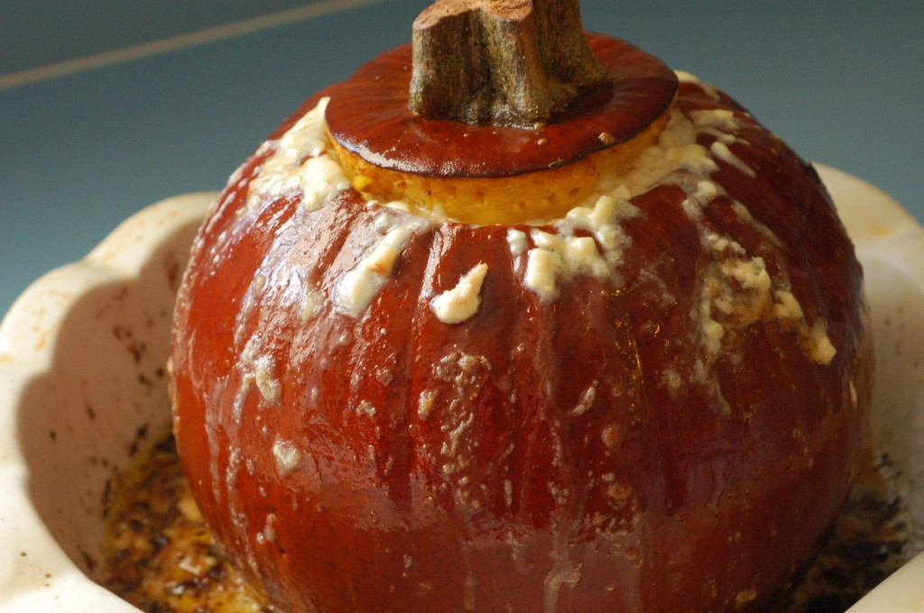 Roasted Cheese Pumpkin 2