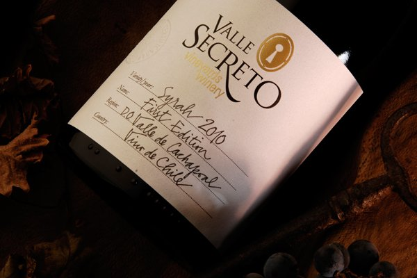 Valle Secerto 1st Edition Syrah 2010