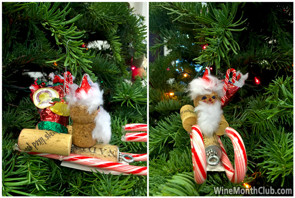 20 Diy Wine Cork Christmas Ornaments Wine Blog From The