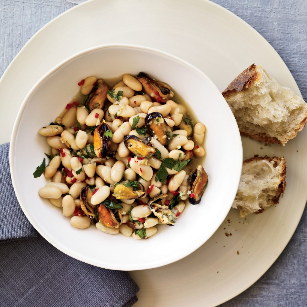mussel-and-white-bean-stew