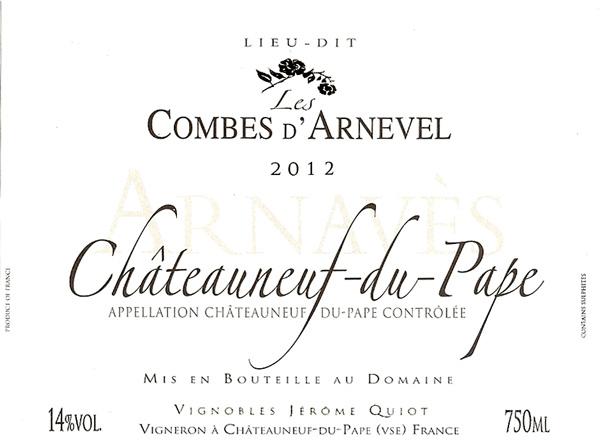 les-combes-d-arnevel-chateauneuf-du-pape-2012