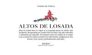 Losada Vinos De Finca Altos De Losada Bierzo Mencia 2009