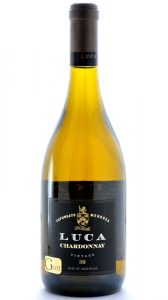 Luca G Lot Tupungato Mendoza Chardonnay 2016 Bottle