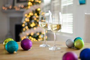 Pexels Christmas White Wine
