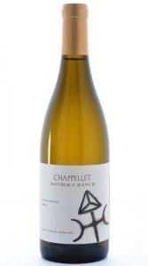 Chappellet Double C Ranch Chardonnay 2014 Bottle Coa