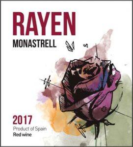 Rayen Vino de la Tierra de Castilla Monastrell 2017