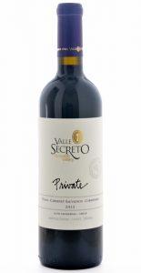 Valle Secreto Private Syrah Cabernet Sauvignon Carmenere 2012 Bottle