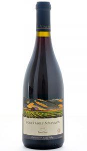 Fore Family Vineyards Carneros Napa Pinot Noir 2012 Bottle