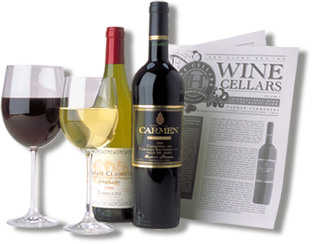 international wine of the month club bottles and glasses