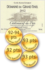 Domaine du Grand Tinel Cuvée Alexis Establet Châteauneuf-du-Pape 2012